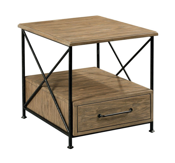 Modern Forge End Table 944-915 By Kincaid