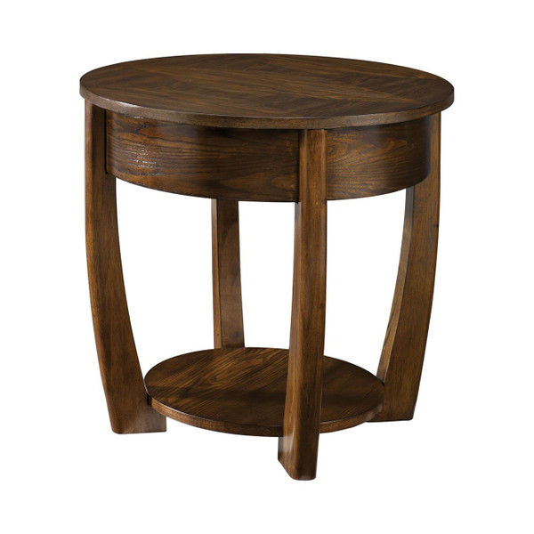 Hammary Hammary Concierge Brown Round Cocktail Table T30018-T3001805-00