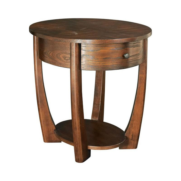 Hammary Hammary Furniture Concierge Oval End Table In Brown T30018-T3001836-00