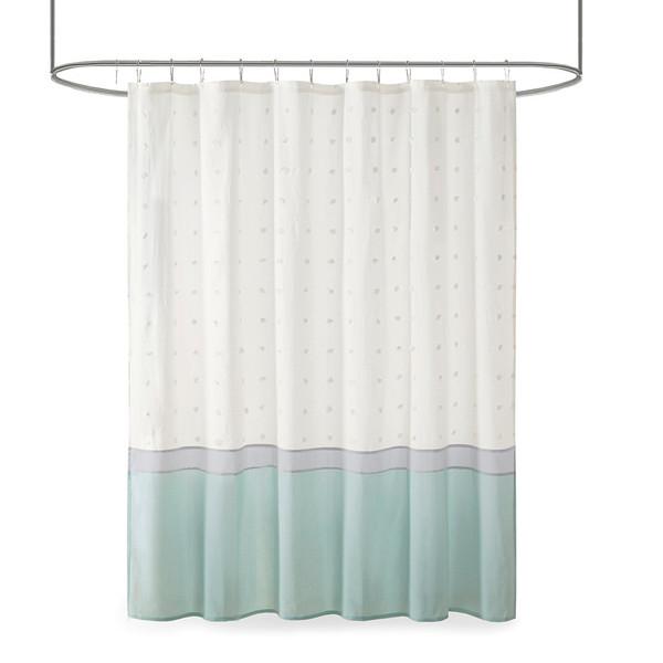 Myla Cotton Jacquard Shower Curtain By Urban Habitat UH70-2386