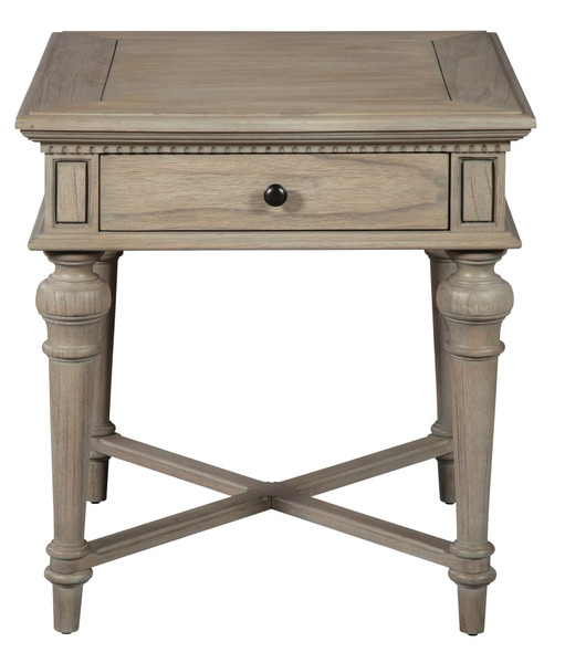 Wellington Estates End Table With Drawer 25204 By Hekman