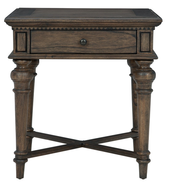 Wellington Estates End Table With Drawer 25404 By Hekman
