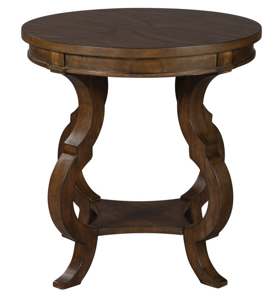 Round End Table 24605 By Hekman