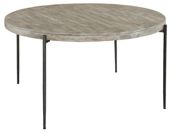 Bedford Park Gray Round Dining Table 24921 By Hekman