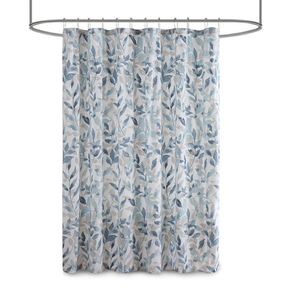 Madison Park Essentials Sofia 100% Polyester Shower Curtain Mpe70-872 MPE70-872 By Olliix