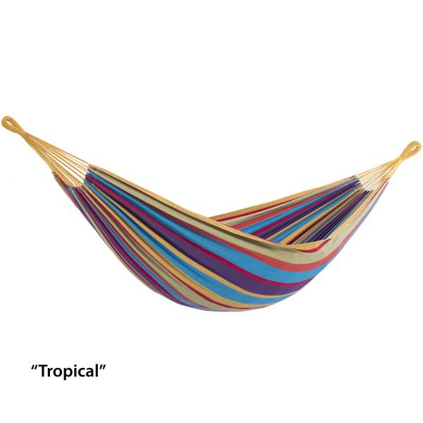 Brazilian Style Hammock - Double (Tropical) BRAZ220 By Vivere