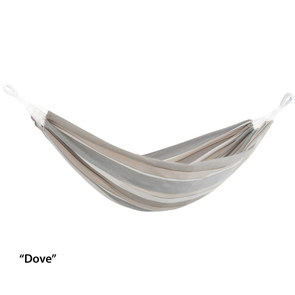 Brazilian Sunbrella® Hammock - Double (Dove) BZSUN09 By Vivere