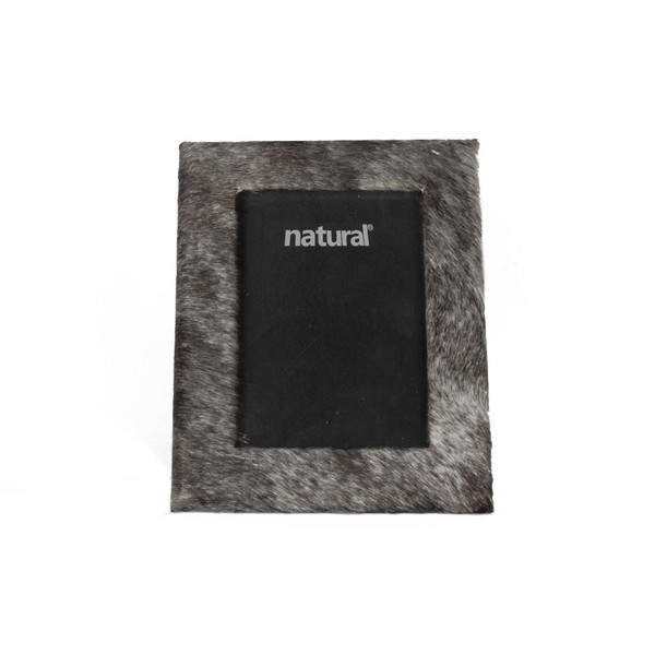 """7"""" X 9"""" Grey, Cowhide - 4"""" X 6"""" Picture Frame 332313 By Homeroots"""