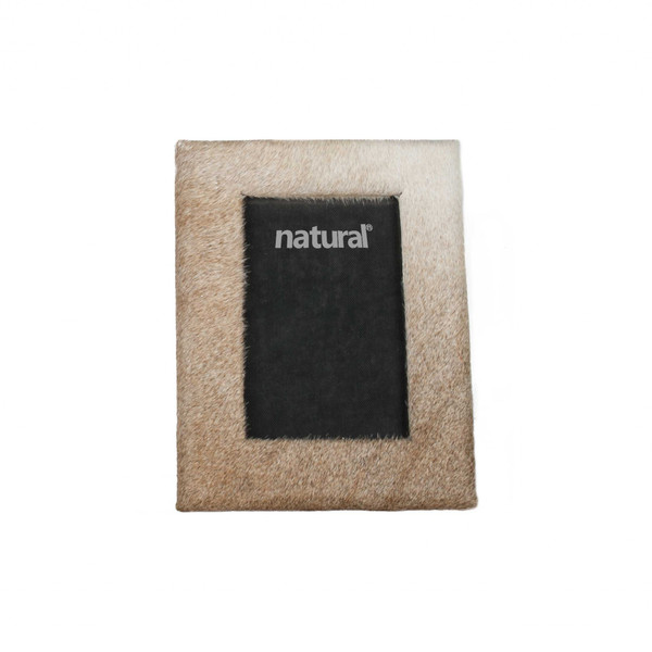 """7"""" X 9"""" Natural, Cowhide - 4"""" X 6"""" Picture Frame 332314 By Homeroots"""