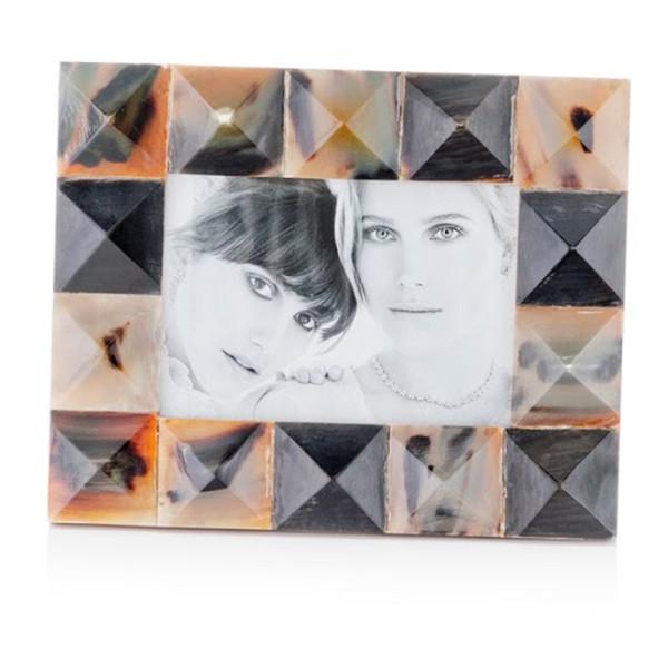 "2"" X 8.5"" X 10.5"" Black, Green & White Mosaic - 5X7 Photo Frame 354733 By Homeroots"