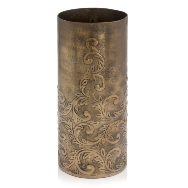"""5"""" X 5"""" X 12.5"""" Copper/Small - Cylinder Vase 354831 By Homeroots"""