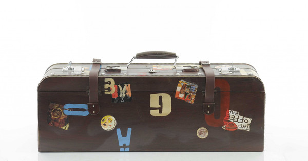 """8"""" X 30"""" X 11.5"""" Vintage Suitcase 364179 By Homeroots"""