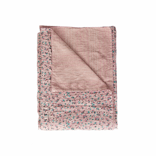 """50"""" X 70"""" Multi-Colored Eclectic, Bohemian, Traditional - Throw Blankets 357568 By Homeroots"""