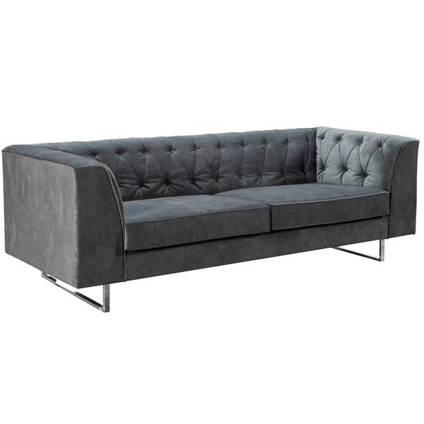 Armen Living 309 Troika Sofa In Charcoal Fabric Lc3093Charcoal