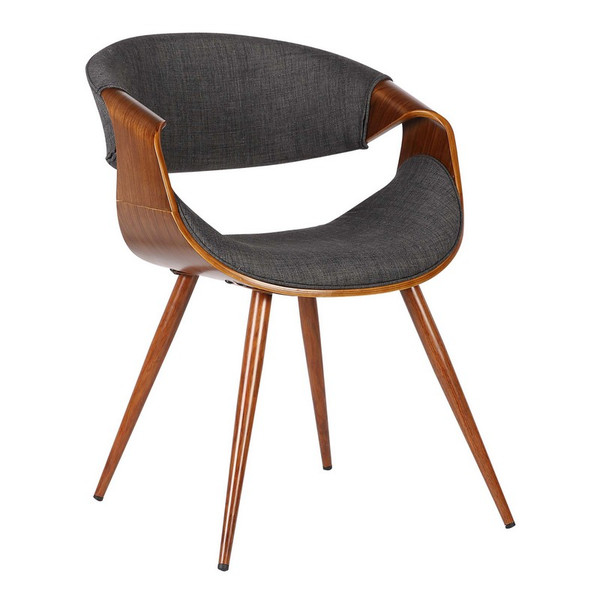 """Armen Living Butterfly Mid-Century Dining Chair LCBUCHWACH """"Special"""""""