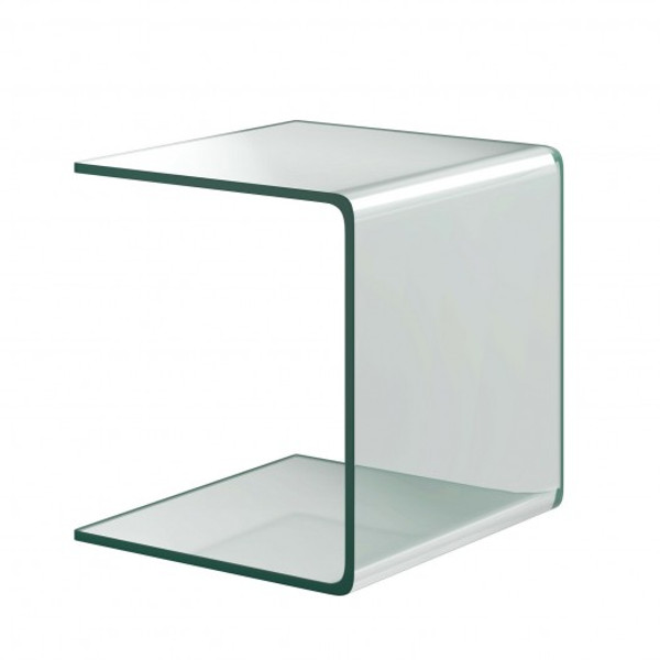 HW66957 Tempered Sofa Side Glass End Table