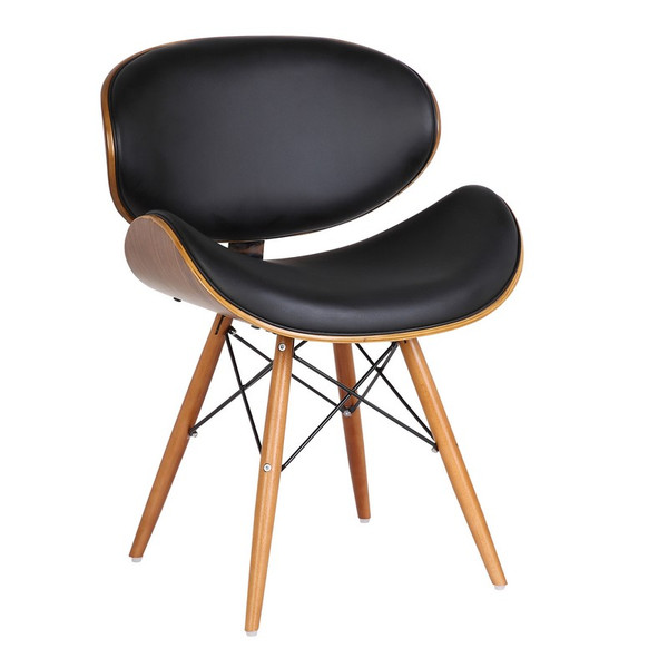"""Armen Living Cassie Mid-Century Dining Chair LCCASIWABL """"Special"""""""
