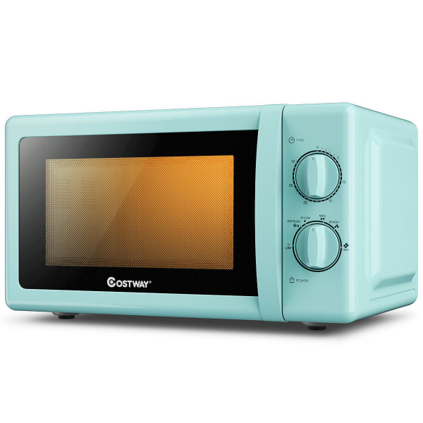 EP24454GN 0.7 Cu. Ft Retro Countertop Compact Microwave Oven-Green