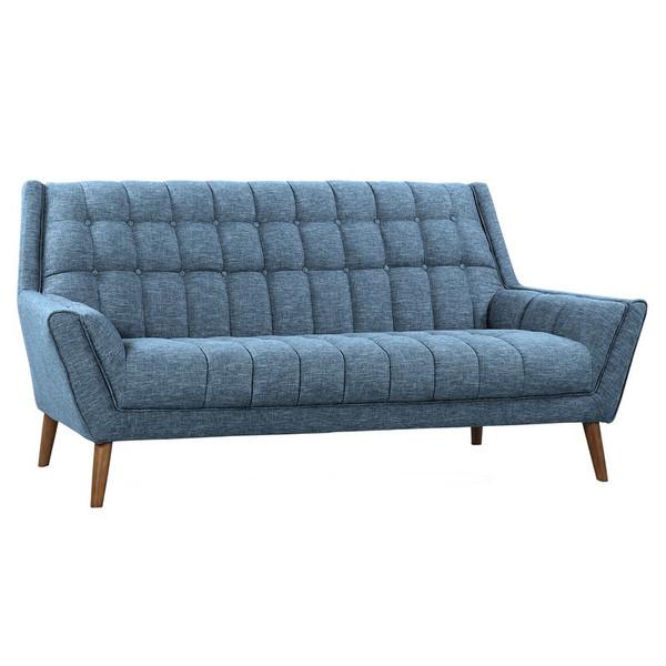 "Armen Living Cobra Mid-Century Modern Sofa LCCO3BL ""Special"""