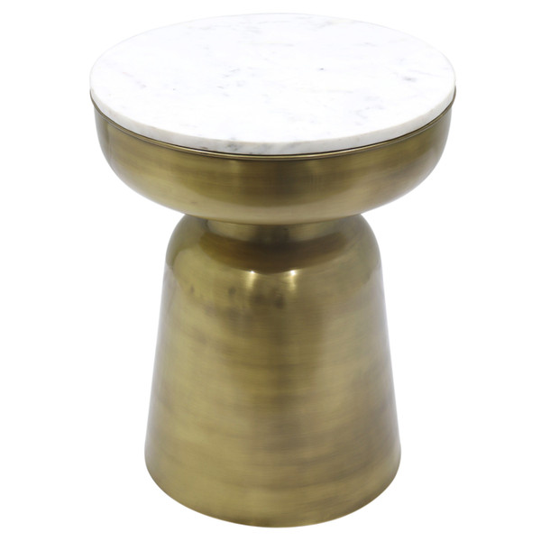 Clyde Marble Side Table 1260002