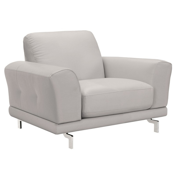 """Armen Living Everly Contemporary Chair LCEV1GR """"Special"""""""