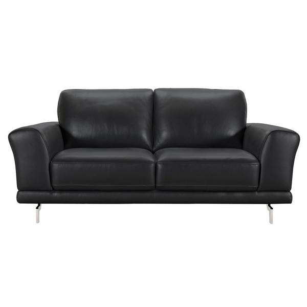 "Armen Living Everly Contemporary Loveseat LCEV2BL ""Special"""