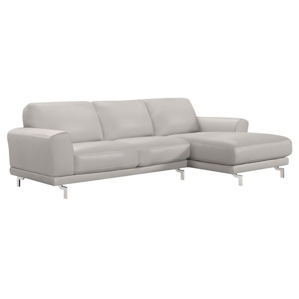 """Armen Living Everly Contemporary Sectional LCEVSEGR """"Special"""""""
