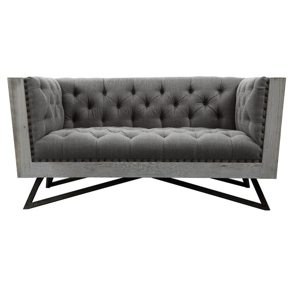 "Armen Living Regis Contemporary Loveseat LCRE2GR ""Special"""