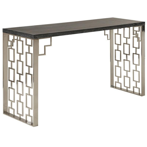 """Armen Living Skyline Console Table LCSKCNBLMT """"Special"""""""