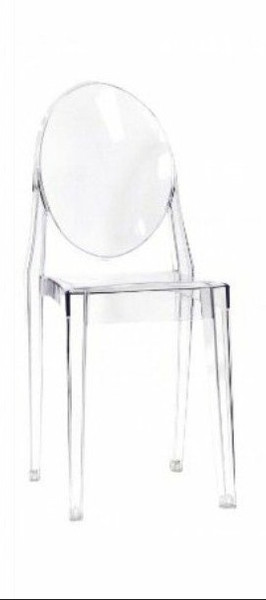 AL10007 Aron Victoria Ghost Crystal Chair
