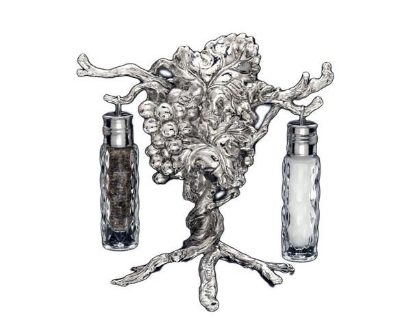 Arthur Court Grape Hanging Salt And Pepper Set 041048