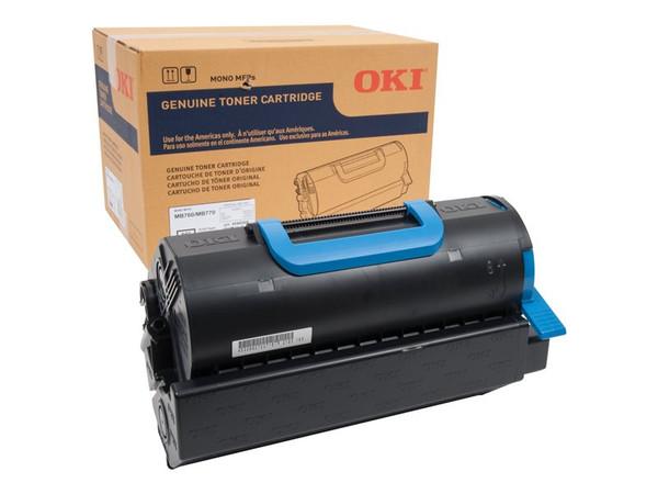 Okidata Mb760 Sd Yield Black Toner OKI45460508 By Arlington