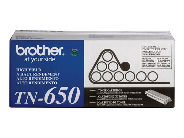 Brother Hl-5340D Hi Yield Black Toner BRTTN650 By Arlington