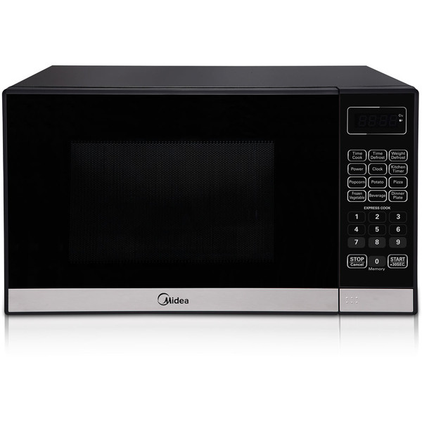 Midea 0.7 Cf Countertop Microwave, 700W MMC07ML7ST