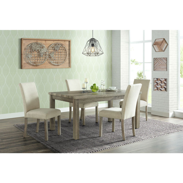 Cambridge Wyeth Dining 5 Piece Dining Set - Table, 4 Fabric Side Chairs 982003-5PC-RUS