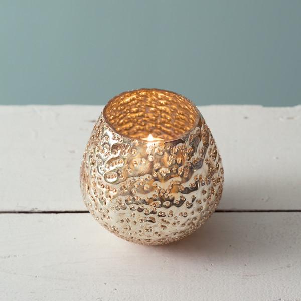 CTW Home Aurelia Mercury Glass Votive Holder - Box Of 2 370564