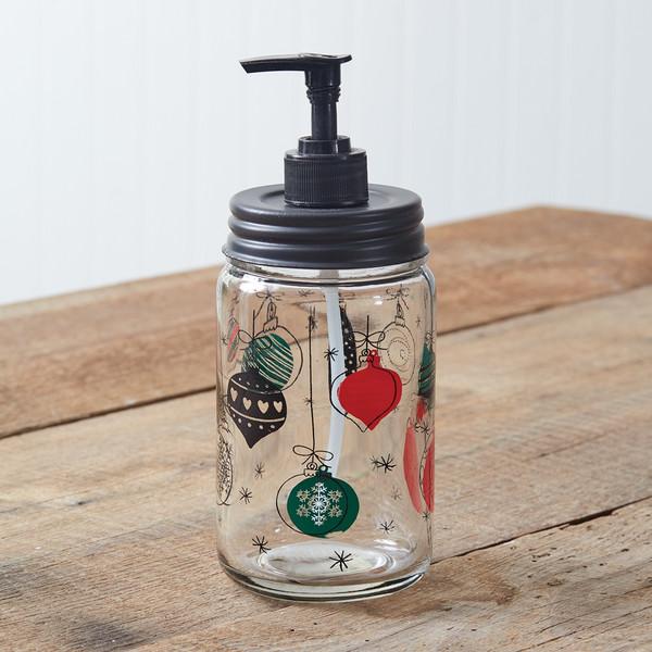 CTW Home Christmas Ornament Soap Dispenser 370572