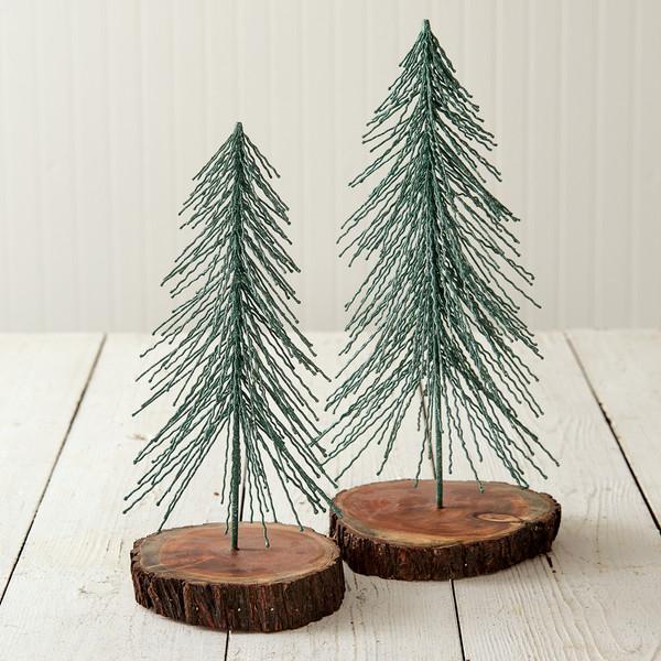 CTW Home Large And Medium Woodland Christmas Tree 460301