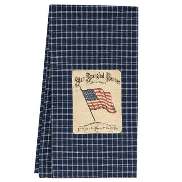 Star Spangled Banner Dish Towel Grj508 By CWI Gifts