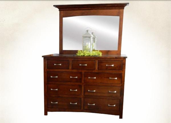 Roselyn Dresser Red Oak & Brown Maple RD6040 By J.Miller Woodworking