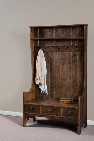 Bridget Hall Seat AJW218 By A&J Woodworking