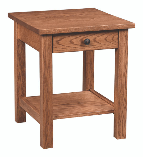 Tersigne Mission Collection End Table TMET20 By Frog Pond Furniture