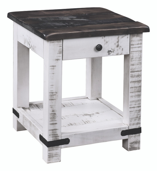 Olde Tymes Collection End Table OTET20 By Frog Pond Furniture