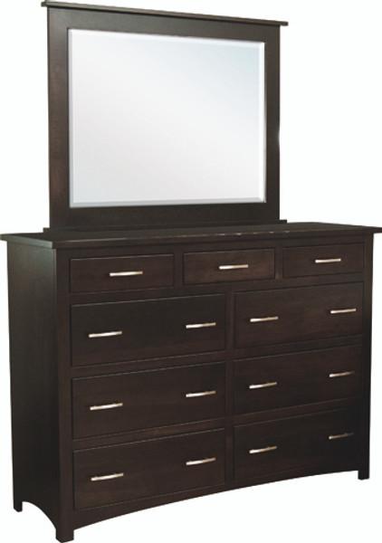 Tersigne Mission Collection Mirror (High Dresser) 202 By Frog Pond Furniture