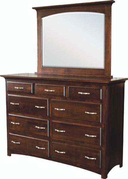 Buckeye Collection Mirror (High Dresser) 302 By Frog Pond Furniture