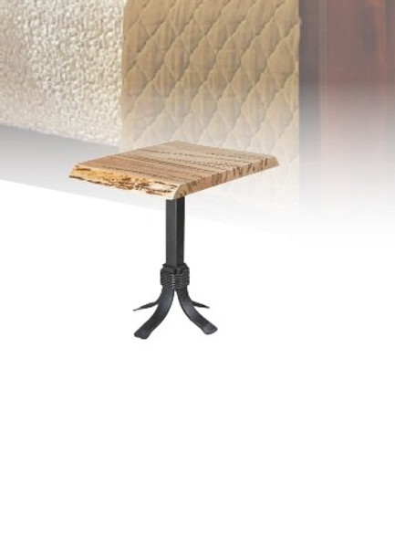 """Seminole Live Edge Tables Collection 22"""" End Table SET22 By Frog Pond Furniture"""