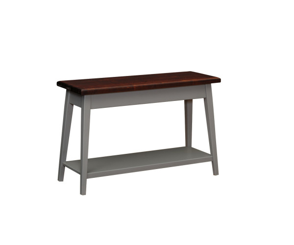 Brooklyn Sofa Table With Self 1645 By Forest Ridge Woodworking