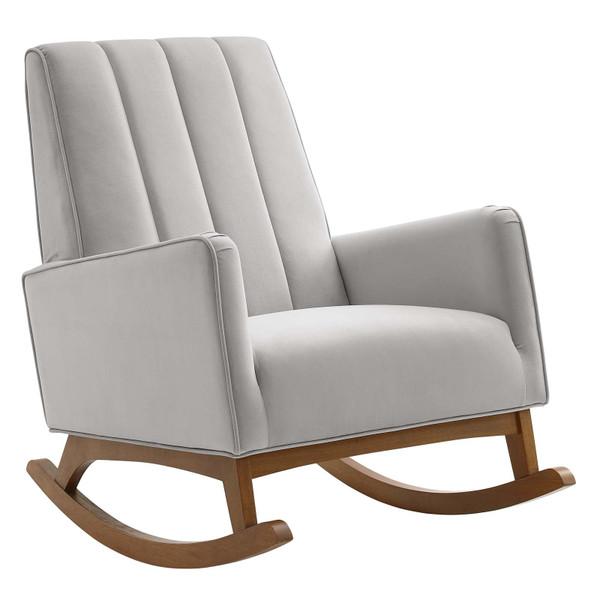 Modway Sway Performance Velvet Rocking Chair EEI-4456-LGR