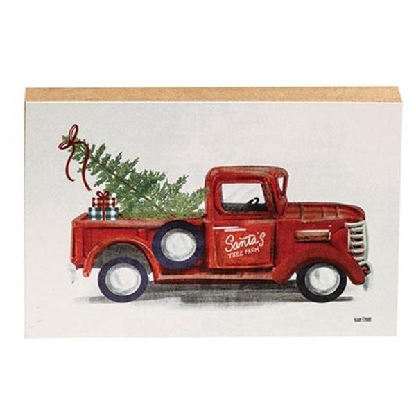 Santa'S Tree Farm Block GFEN201A By CWI Gifts
