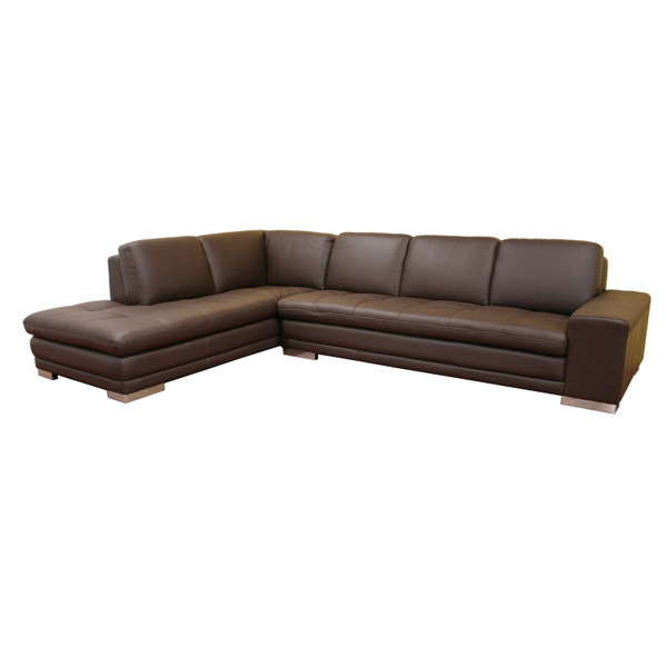 766-sofa/lying-M9805-Reverse Callidora Brown Leather Sectional Reverse